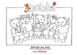 Kleurplaten van Bobbi. Deze kleurplaat komt uit Bobbi gaat naar school