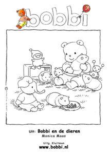 Kleurplaten Bobbi. Deze komt uit BKleurplaten Bobbi. Deze komt uit Bobbi en de dieren. Caviaobbi en de dieren. Cavia